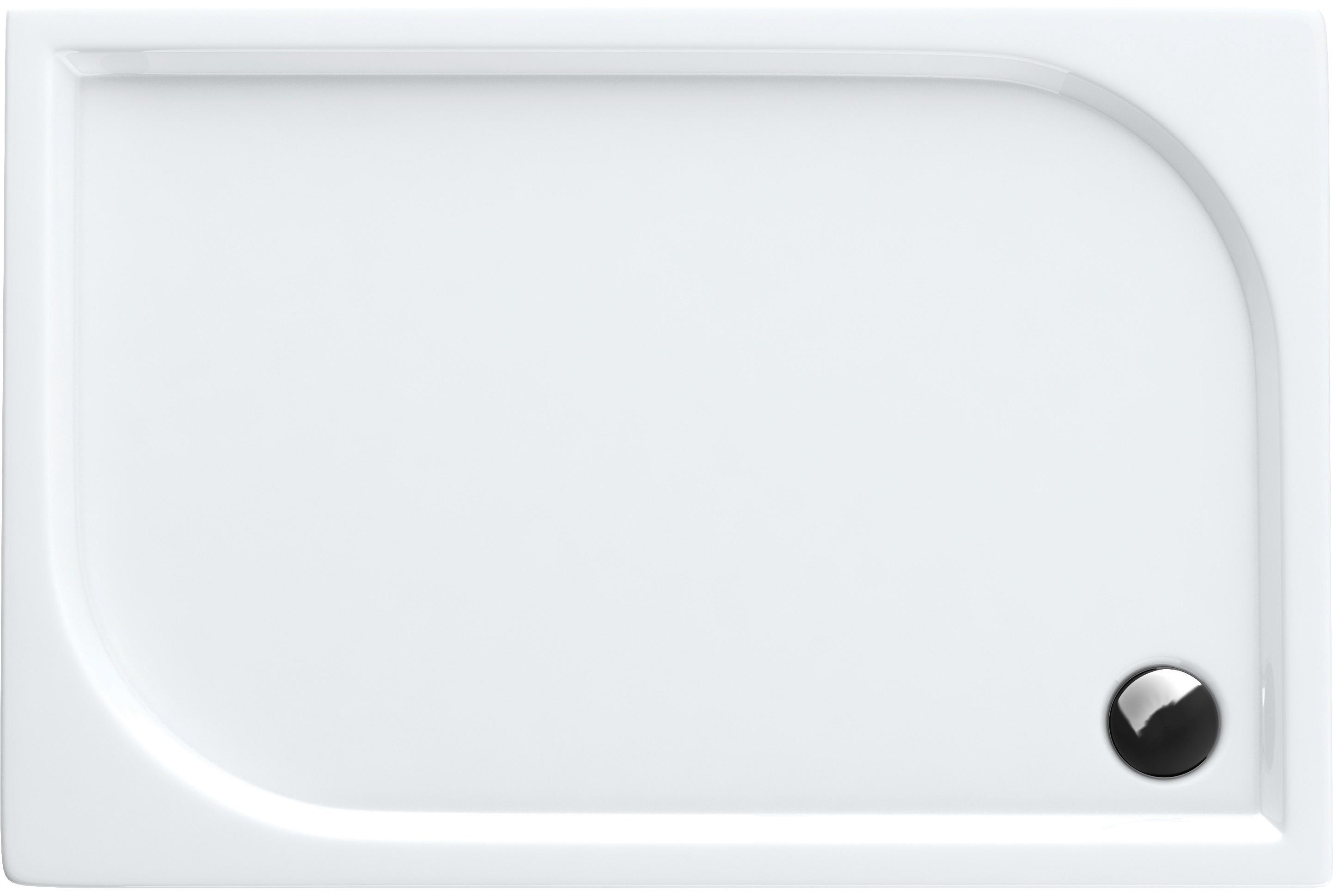 Aquabad® Comfort Praktica Rechteckige Duschwanne