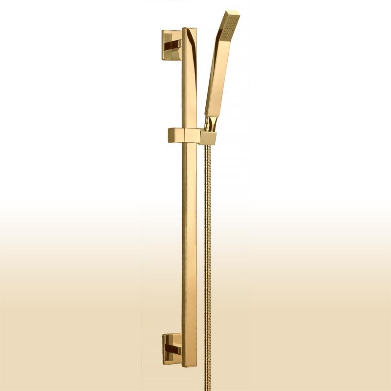 Vergoldete (PVD) Design Brausegarnitur