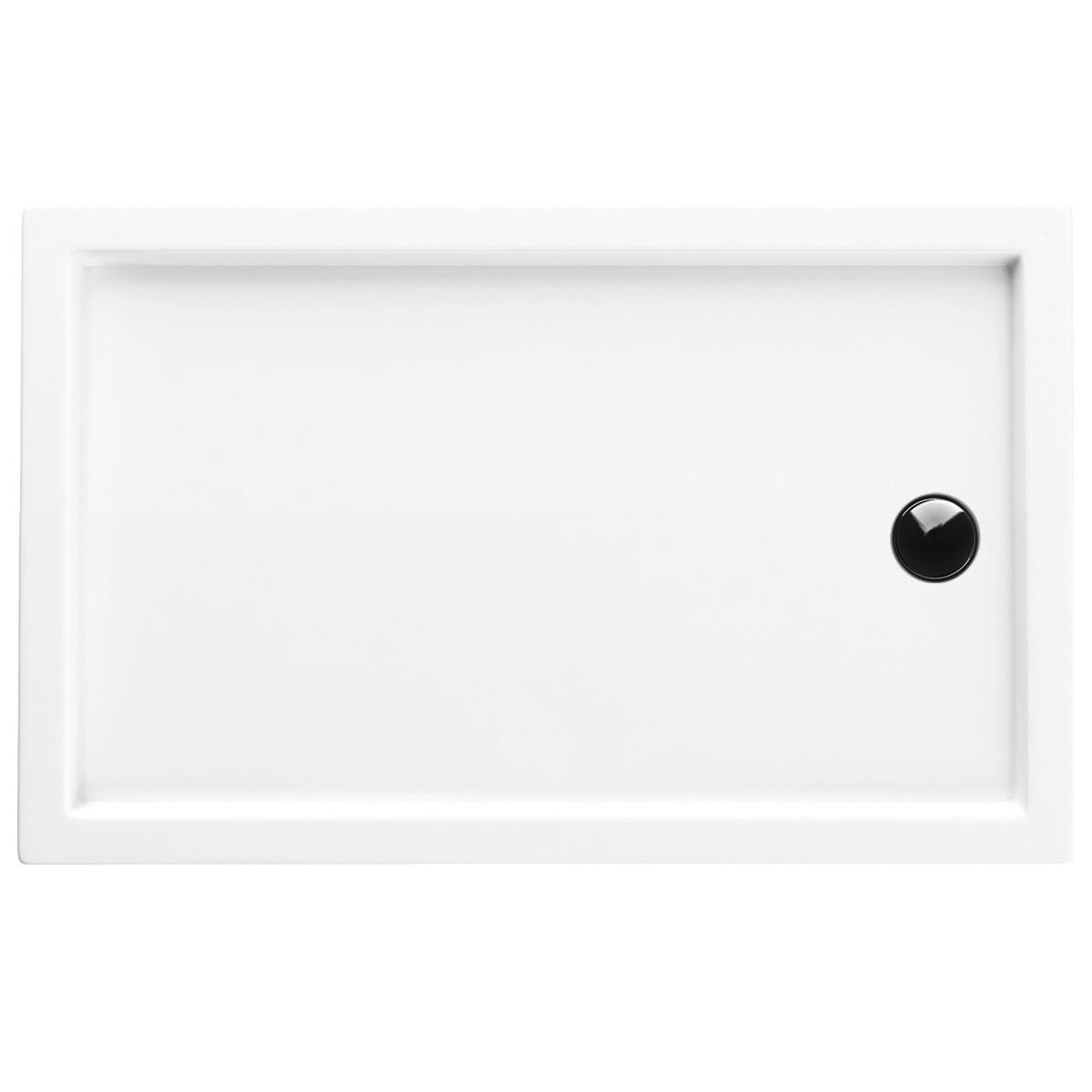 Aquabad® Comfort Villa Flat flache Rechteck Duschtasse 90 x 160 cm