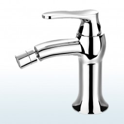 Art Deco Bidet Einhebelmischer, Standard: Höhe 15,5cm Ausführung: Chrom