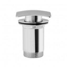 Universal Ablaufgarnitur POP UP Ventil für Waschtisch / Waschbecken Chrom