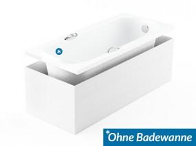 Aquabad® Universal Styropor Wannenträger Styroporträger 170x75 und 180x80 für Badewannen