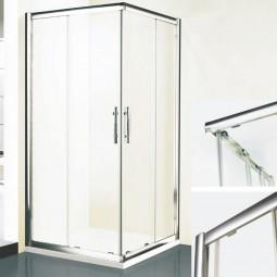 Duschkabine DK Eckdusche mit Schiebetüren