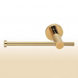 Toilettenpapierhalter vergoldet (PVD), Serie: Modern