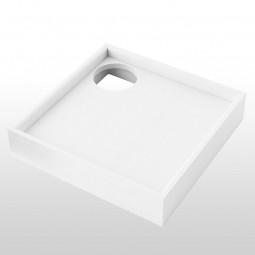 Aquabad® Styroporträger für Duschwannen H: 14 cm, quadratisch