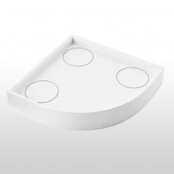 Aquabad® Styroporträger für Duschwannen H: 14 cm, viertelkreis